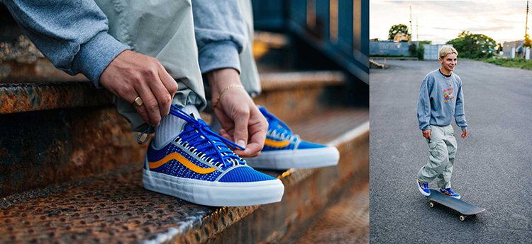 750vansalltimers. Vans and Alltimers bring space-age vision to the Old  Skool Sport Pro. 362f71e77