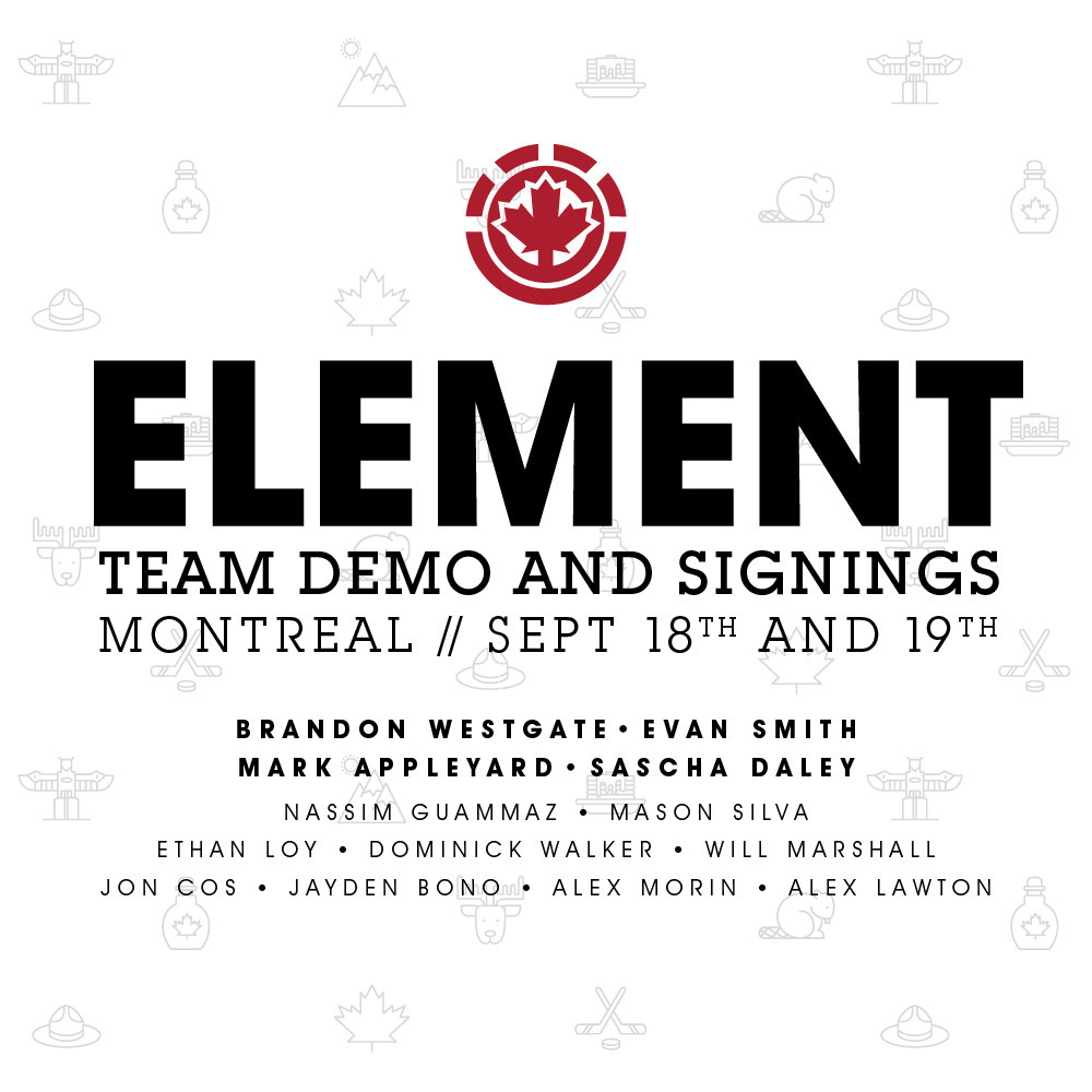 e6acd2c115 Element Demo and Signings - King Skate Magazine