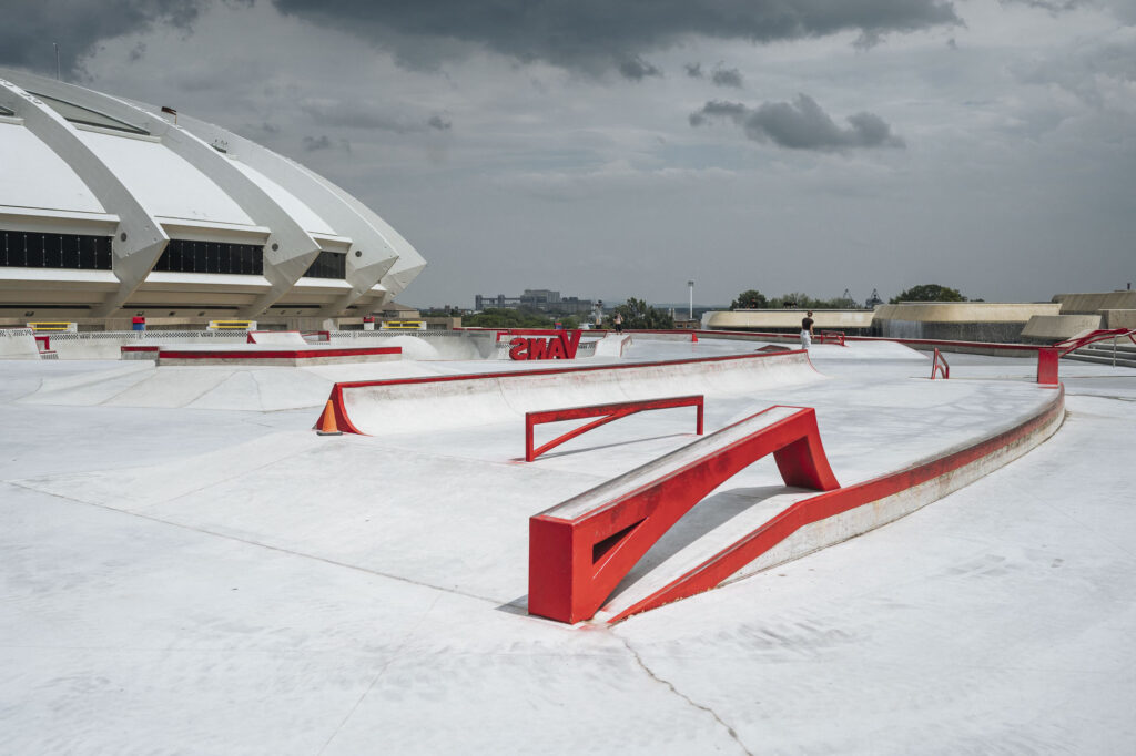 Vans Unveils Massive New Street Section at Montreal's Olympic Park ...